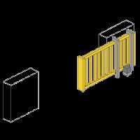onderhoud schuifpoort herstellen toegangspoort