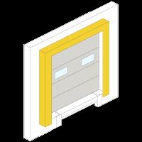 Onderhoud dock shelter